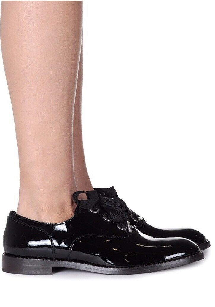 Marc Jacobs Jacobs Marc Helena Black Oxfords Womens Flats Size 7.5 3a2b87