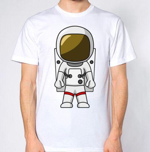 Astronaut T-Shirt Space Mars NASA UFO Top