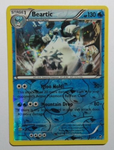 Rare REV HOLO Pokemon Cards XY FURIOUS FISTS Select your card