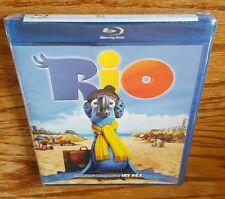 Rio (Blu-Ray) kids family animated movie film 1 original Carlos Saldana NEW