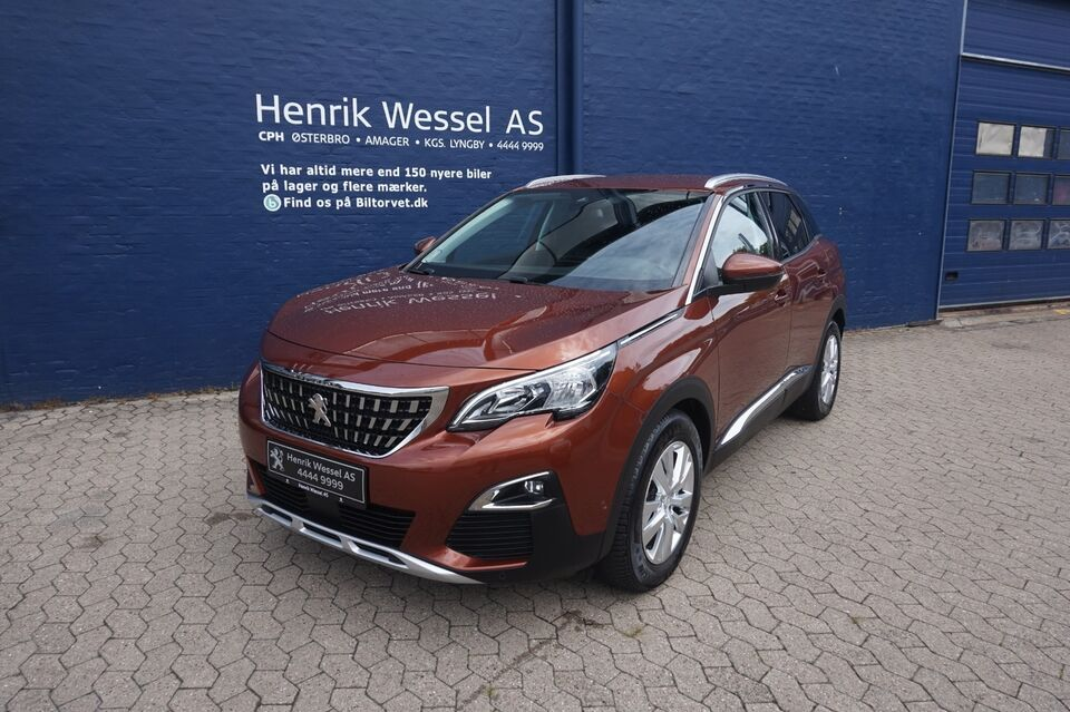 Peugeot 3008 1,6 BlueHDi 120 Allure EAT6 Diesel aut.