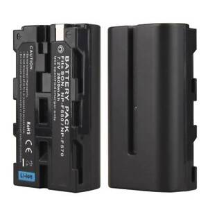 For-Sony-NP-F570-NP-F550-Digital-Camera-2600mah-Rechargeable-Li-ion-Battery-Pack
