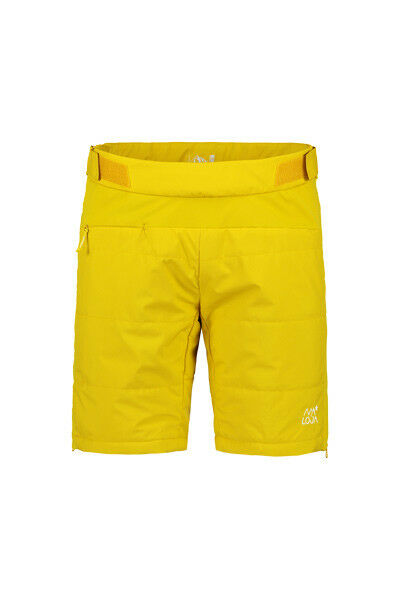 Maloja funktionsshort pantalon court jaune coupe-vent Imperméable