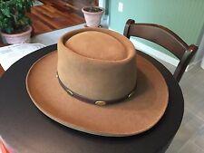 Stetson Royal Flush, Acorn, 4X Gun Club Cowboy Hat, size 7 1/8