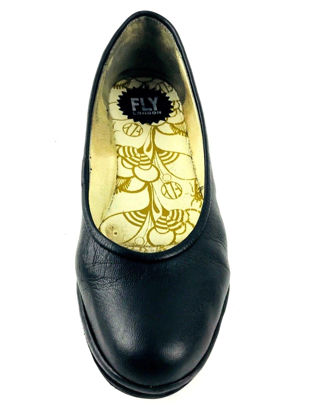 Negros Fly Mujer Zapatos De Con Plataforma London Para Tacón b9WDH2IYeE