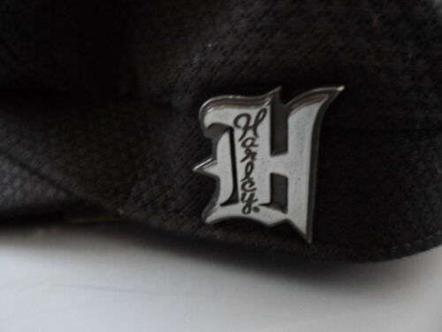 NOS Harley Davidson Womens Side Graphic Metal Emblem Cotton Biker Cap 97816-14VW
