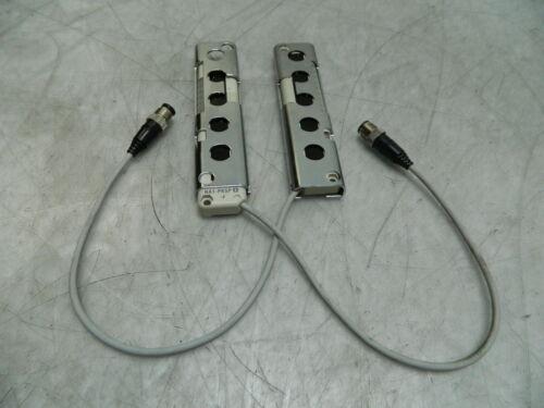 Set of Panasonic NA1-PK5D & NA1-PK5P Curtain Sensor Units, Used, WARRANTY