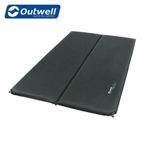 Outwell Self Inflating Sleepin Double Mat - 7.5cm Camping Festival Mat