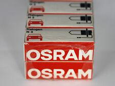 NEU 100 STÜCK OSRAM H3 64151 HALOGEN LAMPE BIRNE 12V 55W PK22s SCHEINWERFER H 3