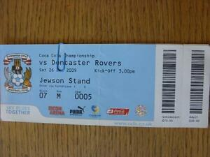 26122009 Ticket Coventry City v Doncaster Rovers Complete folded - <span itemprop=availableAtOrFrom>Birmingham, United Kingdom</span> - Returns accepted within 30 days after the item is delivered, if goods not as described. Buyer assumes responibilty for return proof of postage and costs. Most purchases from business s - Birmingham, United Kingdom