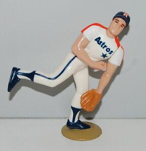 1988 Mike Scott Houston Astros #33 White Jersey Starting Lineup Baseball SLU