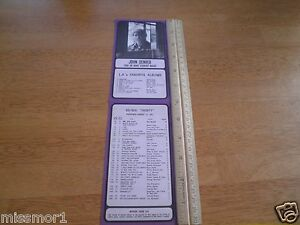 Details about 93 KHJ radio BOSS 30 songs flyer 1971 John Denver Jean Knight  319 Carole King