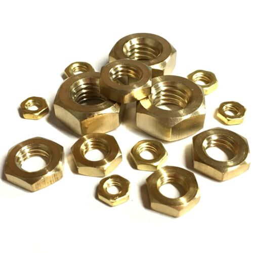 3//4 BSF  SOLID BRASS HALF NUTS PACK  4 TOOLSHACK