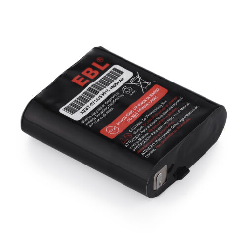 2x 1000mAh NIMH Battery For Motorola HKNN4002 53615 KEBT-071-A KEBT-071-B T5920