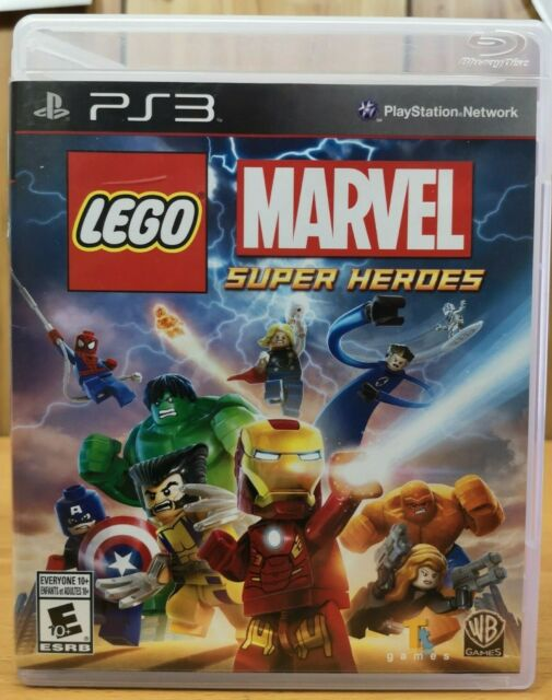 Lego Marvel Super Heroes (Playstation 3, ps3, 2013, WB) *Complete E10+