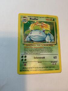 BISAFLOR 15/102 HOLO  German Pokemon Card Played