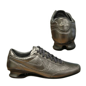 Shox Leather Trainers Womens 2008 Vital 002 Vintage Rare Nike Top 325217 D41 Low xXqWdnpz