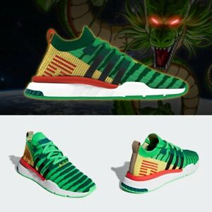 low priced 6dfc9 715b8 Image is loading Adidas-Originals-Dragon-Ball-Z-EQT-Support-ADT-