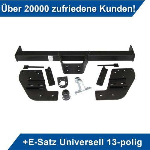 Für Fiat Fullback 4WD Doppelkabine ab 15 Anhängerkupplung starr+ES 13p uni AHK