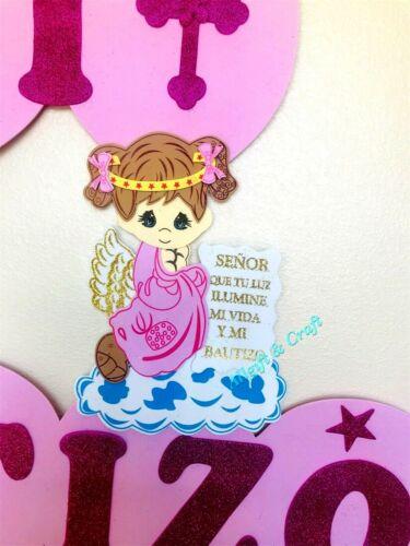 Baptism Favors Baptism Decoration,baptism Banner For Girl Spanish