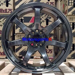 xxr  wheels   chromium black staggered rims  concave  scion frs