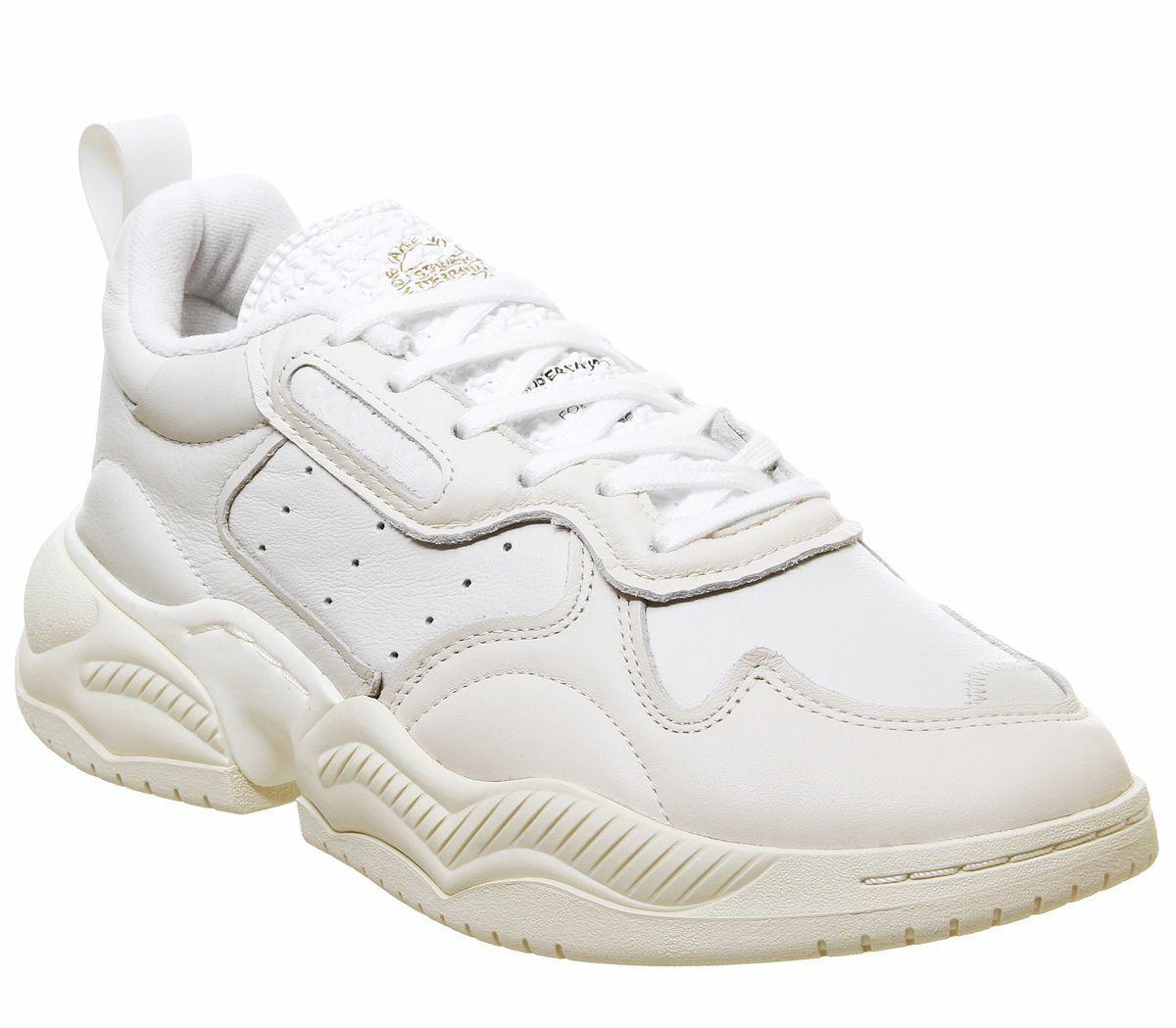 Homme Adidas Supercourt 90 S Baskets blanc écru Baskets chaussures