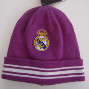 a8598bc577b Image is loading Unisex-Real-Madrid-Beanie-Soccer-Team-Official-Product-