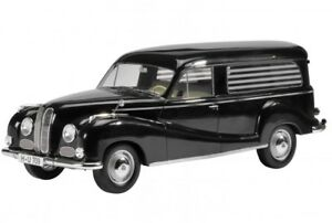 Bmw-502-barroco-Angel-bestattungswagen-negro-Schuco-resin-maqueta-de-coche-1-43