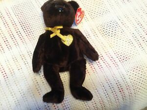 TY BEANIE BABIES ~ TY SIGNATURE  2003 / BEAR ~ EXC COND   W/ TAGS