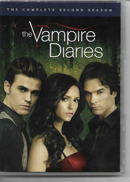 The Vampire Diaries DVD!  The Complete Second Season! Supernatural Thriller!