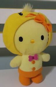 MCDONALDS-HELLO-KITTY-PLUSH-TOY-KIIROITORI-DUCK-KIDS-SOFT-TOY-ABOUT-18CM-TALL
