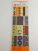 Halloween Icon Adhesive Border Paper Pad Stickers Martha Stewart Crafts