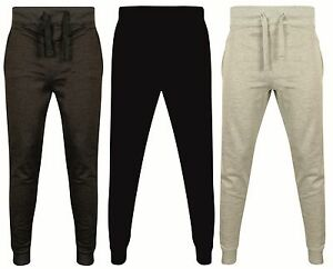 2b5d8848e9 Details about New Mens Slim Fit Tracksuit Bottoms Skinny Jogging Joggers  Sweat Pants Trousers