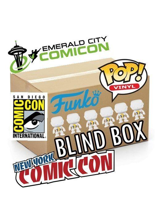 Funko POP  BLIND BOX 5 Regular + 1 CONVENTION COMIC CON