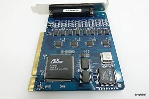 Moxa C104H/PCI Drivers Windows 7