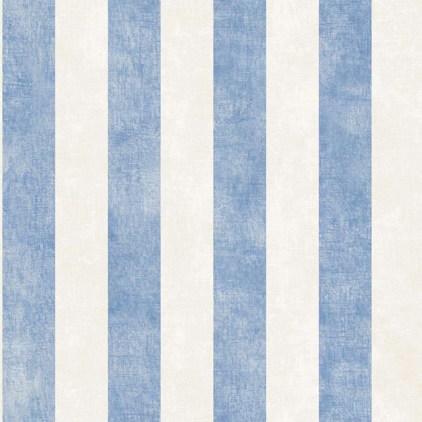 Essener Tapete Simply Stripes 3 Sd36158 blue Strisce Righe Tappezzeria in Vinile