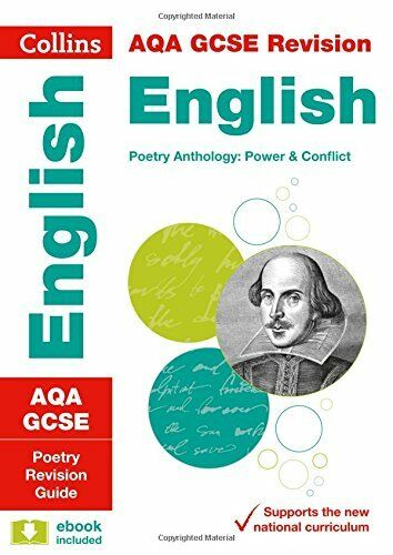 1 of 1 - AQA GCSE Poetry Anthology: Power and Conflict Revision Guide (Collins GCSE Revi