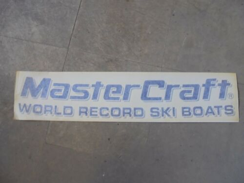 "MASTERCRAFT BOAT DECAL VINYL STICKER PURPLE  27/"" X 6/"""