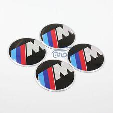 4x M-tech Car Wheel Center Hub Cap Emblem Badge decal Sticker For BMW All Models