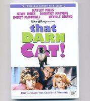 That Darn Cat Disney Dvd 1965 Movie Siamese Tomcat, Hayley Mills, Dean Jones