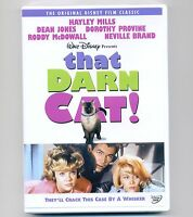 That Darn Cat Disney Dvd 1965 Movie Siamese Tomcat, Hayley Mills, Dean Jones