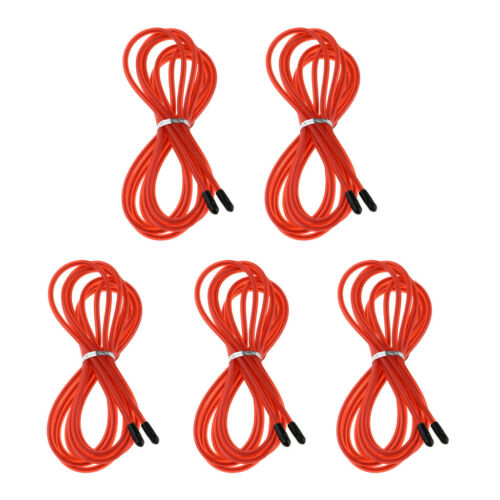 Details about  /5 Count 5 Count Lightweight Speed Jump Rope Replacement Cable 10ft Cables