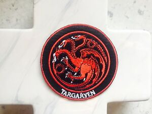Targaryen-GOT-Thrones-Dragon-Viking-House-Embroidered-Iron-On-Patches-Patch