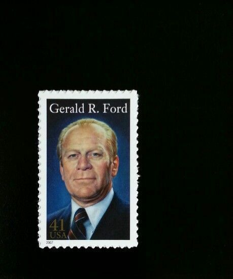2007 41c Gerald R. Ford, 38th President Scott 4199 Mint