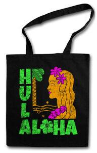 HULA GIRL STOFFTASCHE Aloha Island Tiki Bar Sailor Beach Grill Restaurant