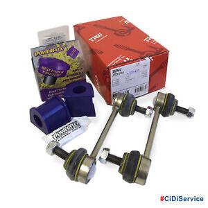 Kit-Biellette-Barra-Stabilizzatrice-Anteriore-TRW-Boccole-Powerflex-Alfa-147