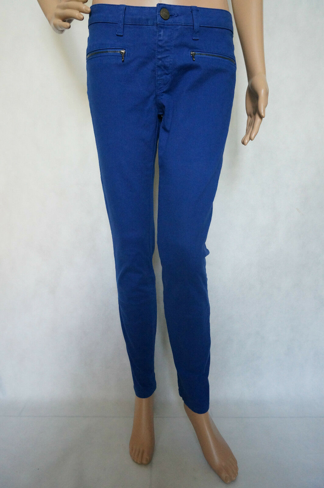 VICTORIA BECKHAM  Damen Jeans Röhrenjeans Größe   27 Blau