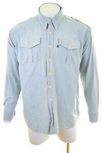 NORTH-SAILS-Mens-Shirt-XL-Blue-HM10