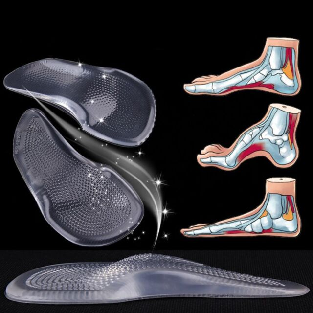 afde9377d2 Correction Shoes Arch Support Orthotic For High Heels Insoles Orthopedic