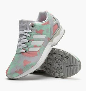 1ce70e147 Image is loading Adidas-ZX-Flux-W-Womens-Floral